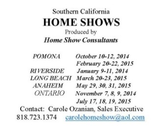 Home Show web page large ad
